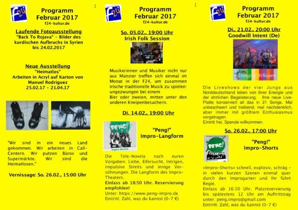 Februar-Programm 2017
