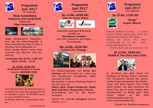 Juni-Programm 2017
