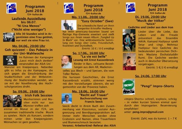 Das Juni-Programm im Überblick